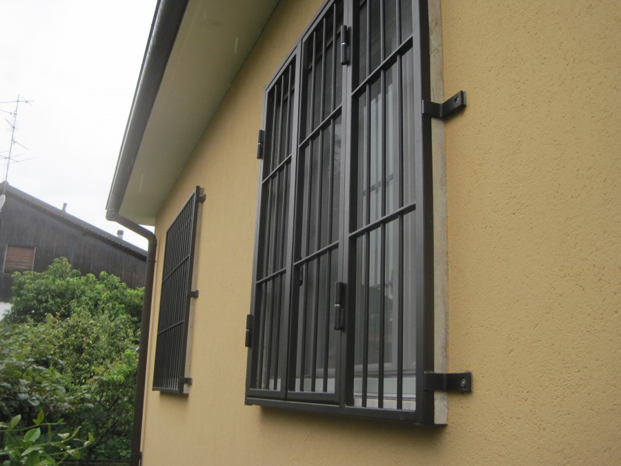 Inferriate e grate di sicurezza per finestre e porte - Sicurezza porta finestra ...