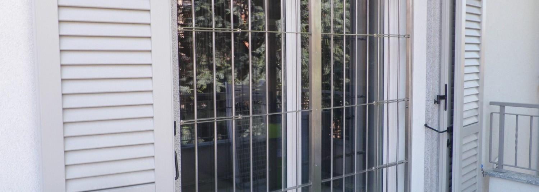 Inferriate e grate di sicurezza per finestre e porte in ferro e ...