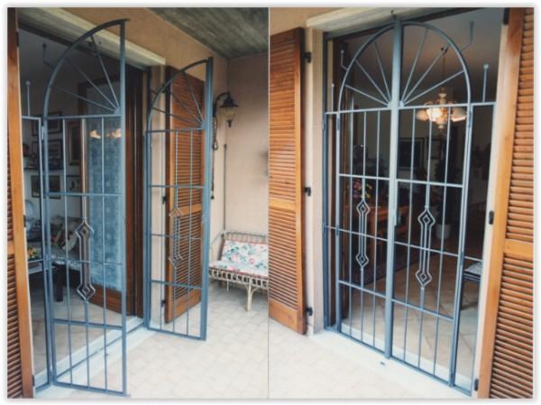 Grate e inferriate apribili con snodo per finestre e porte in ferro e acciaio di produzione - Grate finestre ferro battuto prezzi ...